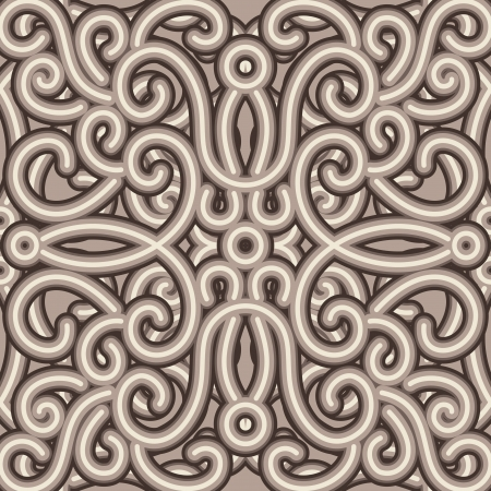 Vintage embroidery pattern, seamless texture Vector
