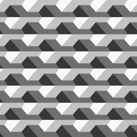 geometric: Concrete fence texture, seamless pattern Illustration