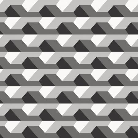 geométrico: Textura do muro de concreto, teste padrão sem emenda Ilustração
