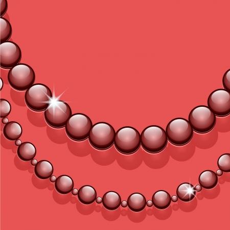 bijouterie: Glass beads, jewelry decorative background