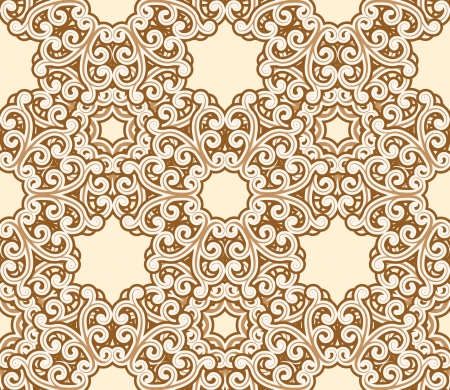 repeated: Seamless lace pattern Illustration