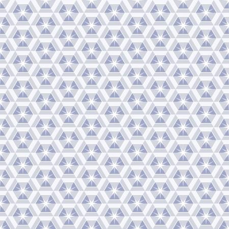 kaleidoscopic: Crystal seamless pattern, abstract diamond texture