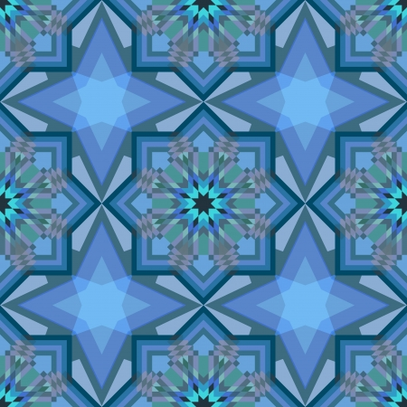 kaleidoscopic: Crystal background, abstract seamless pattern