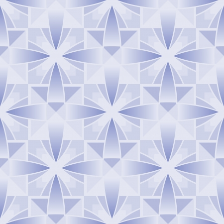Abstract crystal pattern, geometric seamless texture Vector