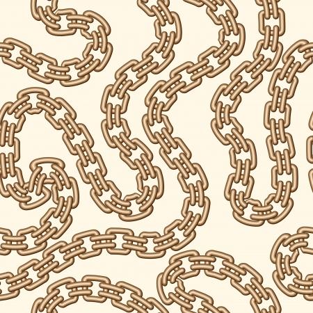 Cadena de oro, el patrón de la joyería sin fisuras