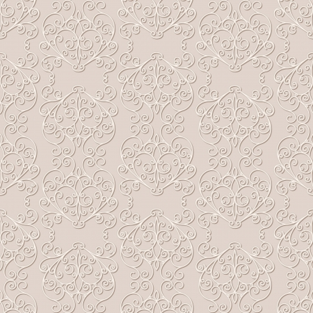 Abstract pale background, seamless pattern Vector