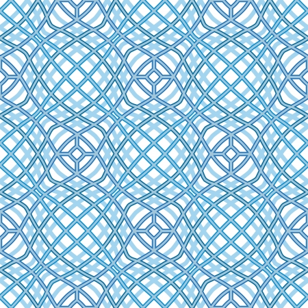Wavy grid, abstract seamless pattern Stock Vector - 18685737