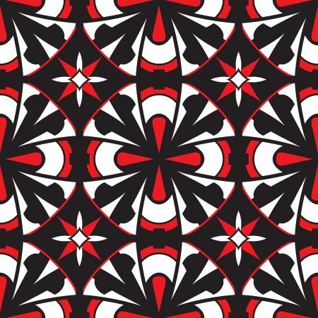 pave: Mosaic tiles, geometric seamless pattern Illustration