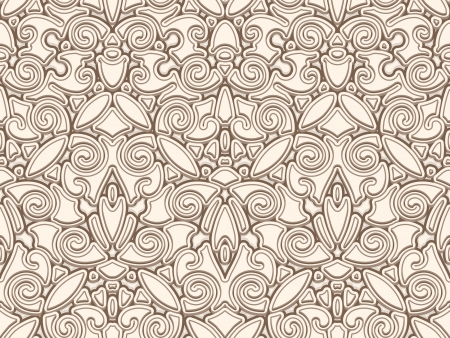 Vintage background, abstract seamless pattern Vector