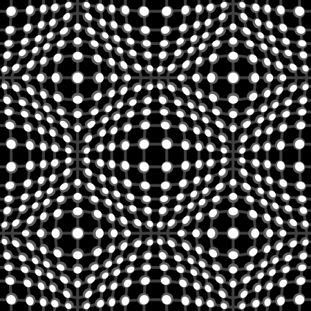 mesh structure: Abstract black and white seamless pattern