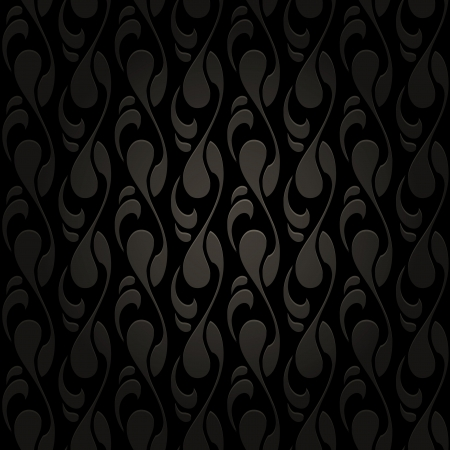 Abstract black seamless pattern Stock Vector - 20233442