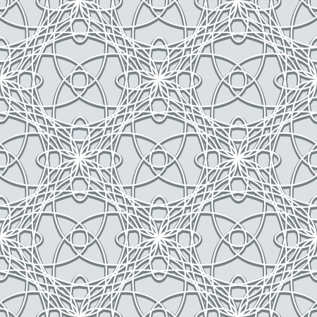 Lace texture, grey seamless pattern Stock Vector - 20486724