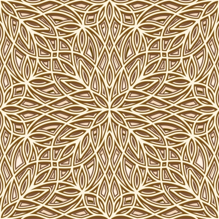 Vintage gold texture, seamless pattern Vector