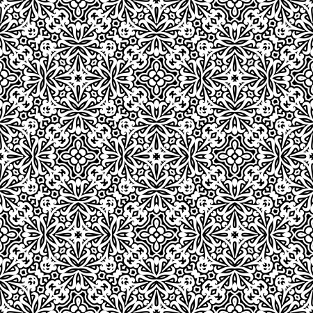 grid paper: Abstract monochrome seamless pattern