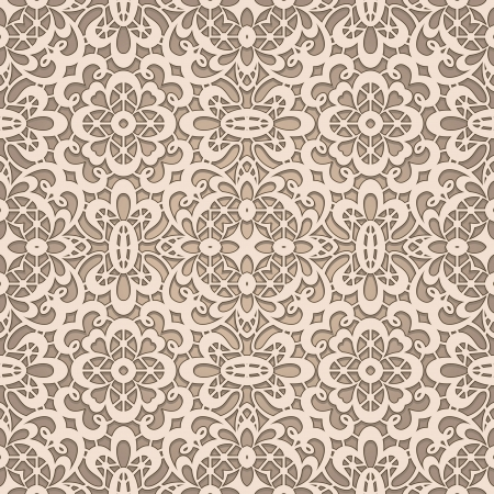 crochet: Old lace, seamless pattern