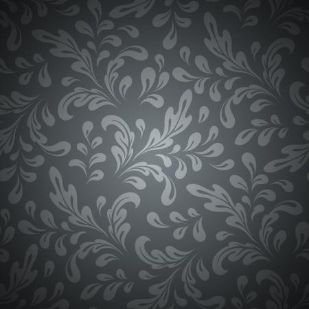 Tourbillons résumé, floral seamless Vecteurs
