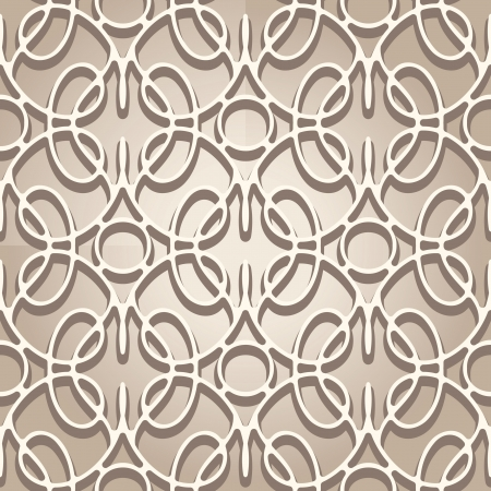 lace like: Abstract beige lace texture, seamless pattern Illustration