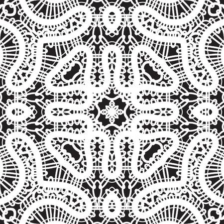 lace like: White lace texture, seamless pattern Illustration