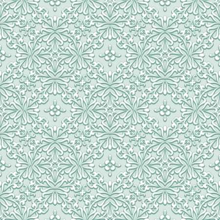 Abstract seamless pattern, green fabric texture
