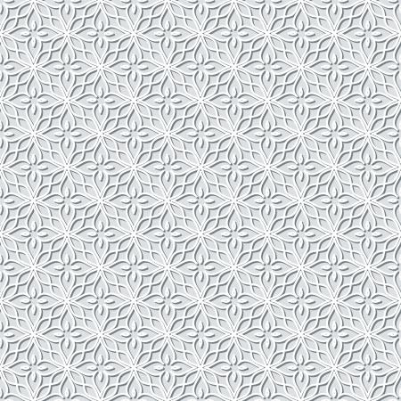 灰色のレース背景、シームレスなパターン  イラスト・ベクター素材