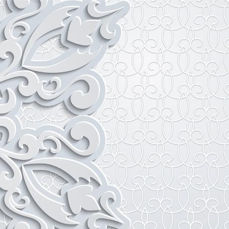 Sier decoratieve achtergrond in neutrale kleur