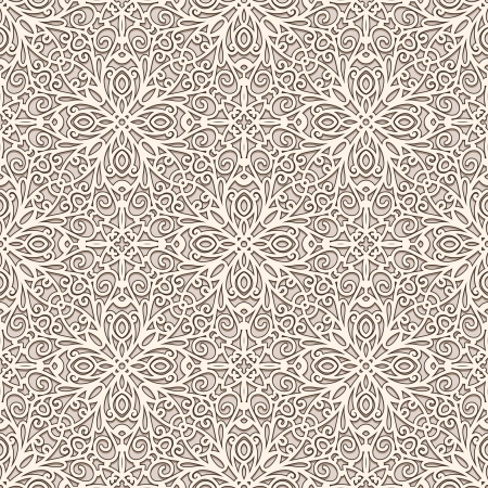 tulle: Ornamental lace background, seamless pattern