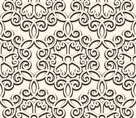 guipure: Vintage lace background, seamless pattern Illustration