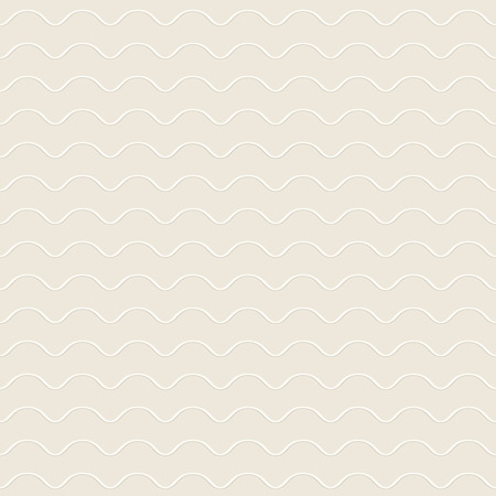 unobtrusive: Abstract wavy seamless pattern, white ornamental background
