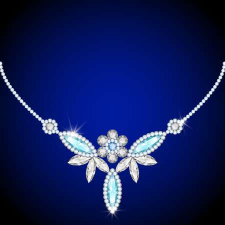 diamond necklace: Elegant jewelry necklace, jewellery diamond decoration