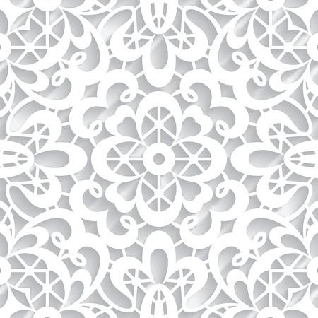 Abstract texture de dentelle de papier, seamless