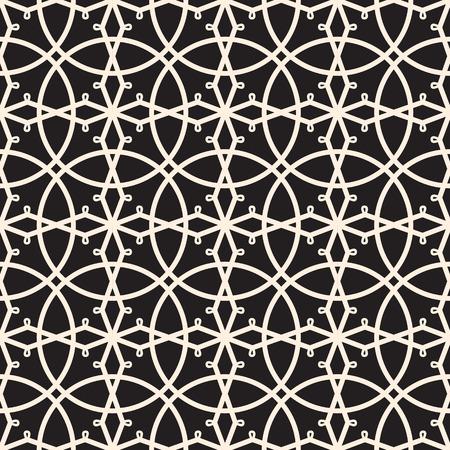 picot: Seamless pattern di pizzo, pizzo di griglia, in bianco e nero merletti ornamento