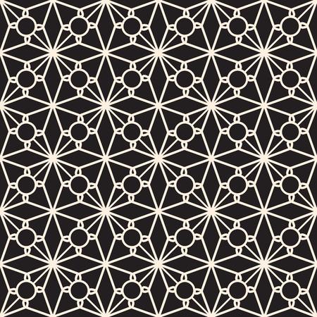 picot: In bianco e nero seamless, struttura elegante pizzo