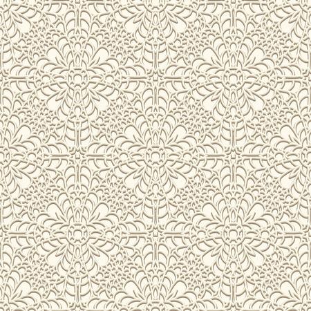 밝은 색상의 빈티지 레이스 배경 크로 셰 뜨개질 장식 원활한 패턴