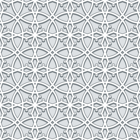 neutral: Grey background, lace texture, seamless pattern in neutral color