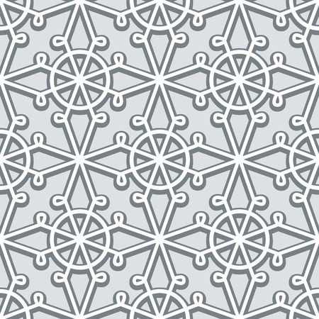 lacework: Grey background, lace texture, seamless pattern in neutral color