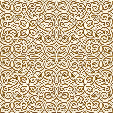 golden texture: Abstract seamless pattern, vintage gold background, ornamental golden texture Vettoriali