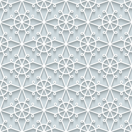 picot: White paper lace texture, ornamental background in neutral color, seamless pattern
