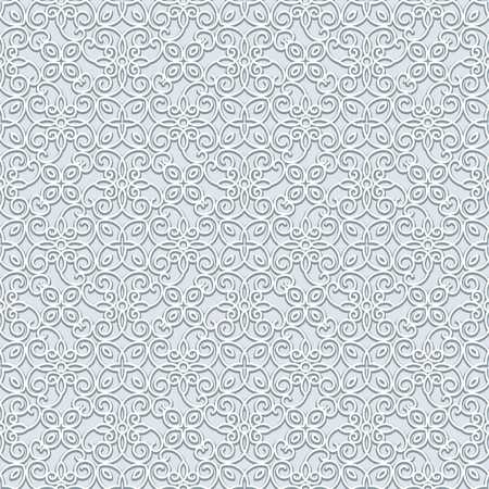 grey background texture: Grey vector background, lace texture, seamless pattern in neutral color