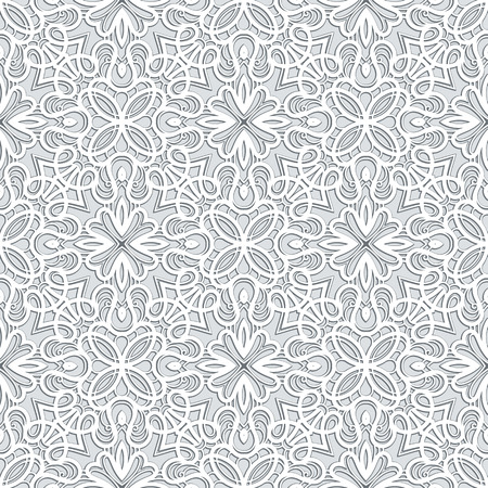 grey background texture: Grey background, lace texture, seamless pattern in neutral color