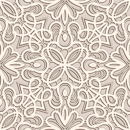 Ornement vintage, de la dentelle texture, seamless