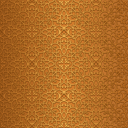golden texture: Vintage gold background, swirly ornamental golden texture