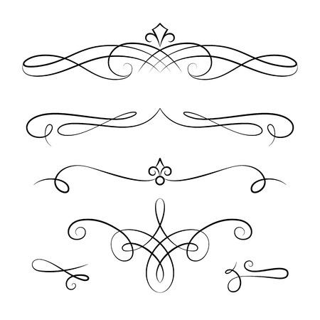 レトロなスタイル 線形スクロール装飾でエレガントな diadems および