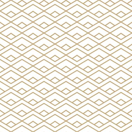 Abstract simple pattern with golden lines. Black and gold ornamental background. Seamless geometric texture in minimal style. Stock fotó - 144879126