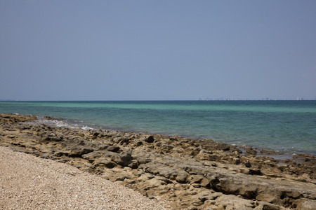 clear water: pure beach and clear water in sunny day