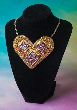 jewelery: elegance hand made fashion jewelery on background