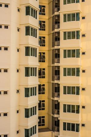accomodation: condo building Stock Photo