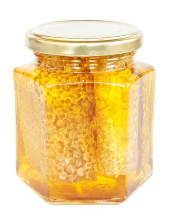 bee pollen: Honey