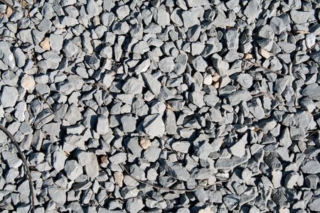 gravel road: Gravel texture