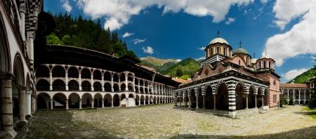 リラ修道院 - ブルガリア 写真素材