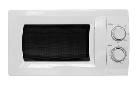 microwave oven: Microwave oven isolated on white background